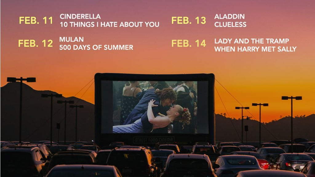 Street Food Cinema Launches New Drive-In Series at Santa Monica Airport Beginning on Feb 11, 2021
